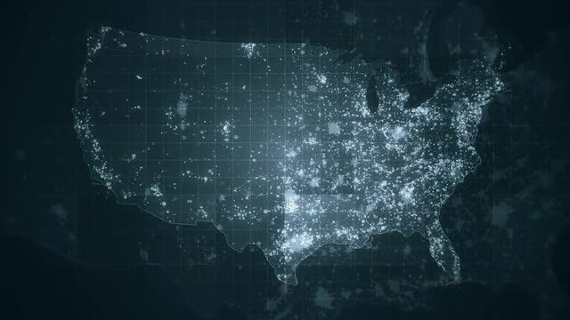 USA Global Maps Pack: Stock Motion Graphics