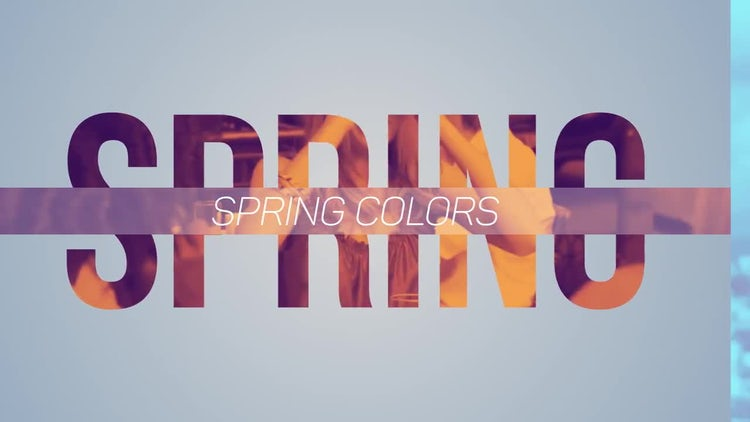 Spring Colors: After Effects Templates