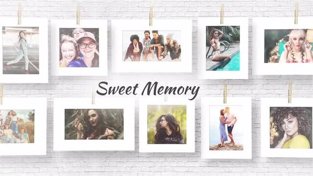 Sweet Memories: After Effects Templates