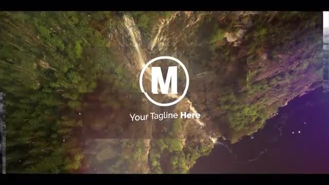 Logo Transition Folding: After Effects Templates