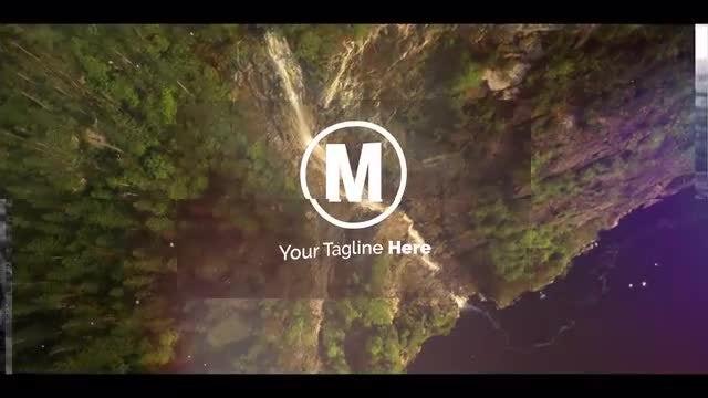 Logo Transition Folding: Premiere Pro Templates