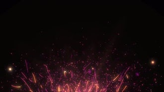 Particles Background: Motion Graphics