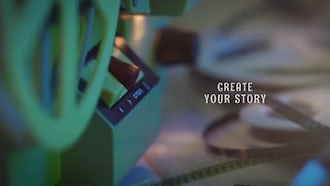 Family Memories Film Projector: After Effects Templates