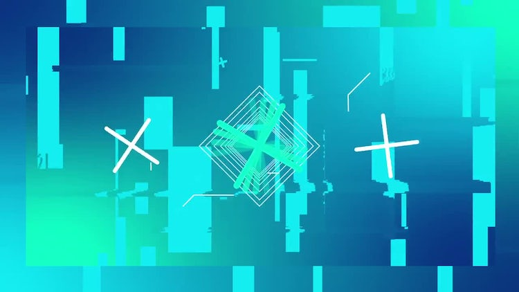 Glitch Logo Game: After Effects Templates