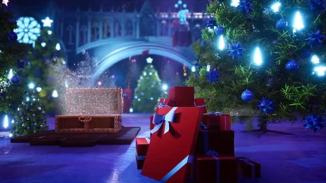 Christmas On The Gates: After Effects Templates