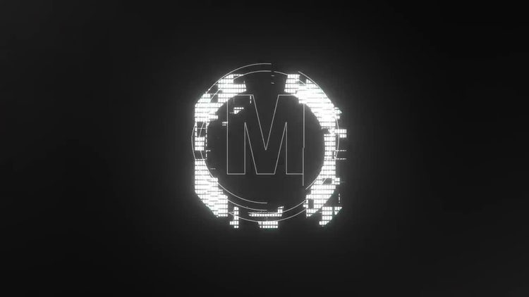 Glitch Logo Reveal: After Effects Templates