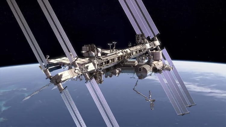 International Space Station: Stock Motion Graphics