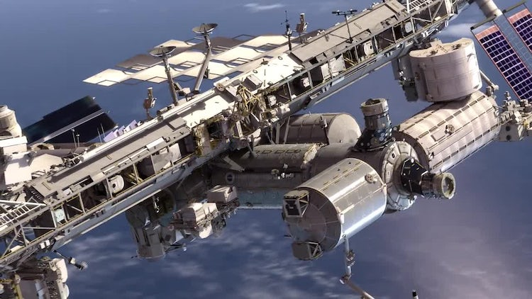 International Space Station: Motion Graphics