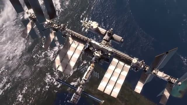 Space Station: Stock Motion Graphics