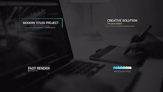 14 Mini Titles: After Effects Templates