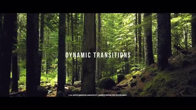 Dynamic Transitions: After Effects Templates