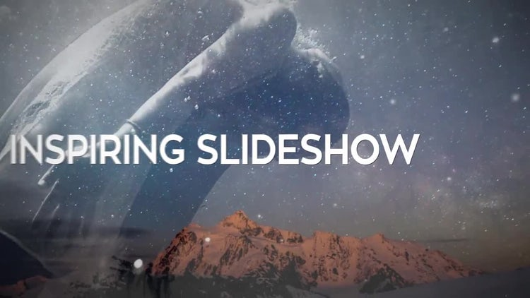 Inspiring Slideshow: After Effects Templates