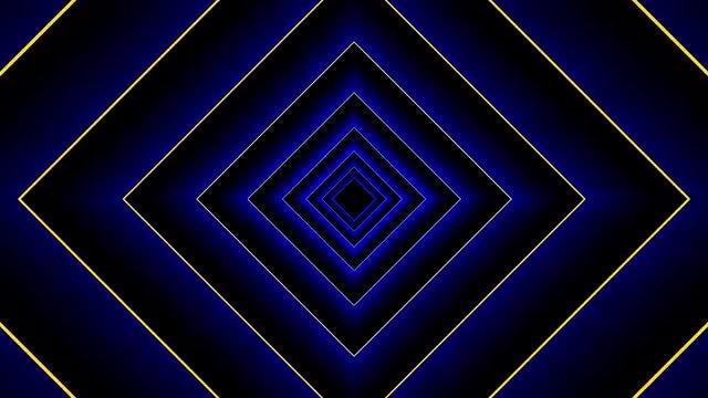 3D Rhombus: Stock Motion Graphics