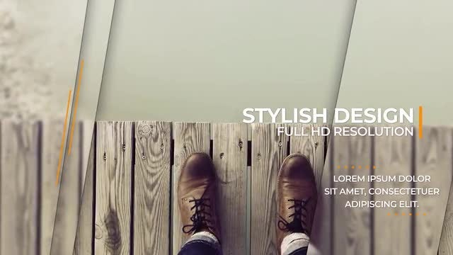 Elegant & Clean Promo: After Effects Templates