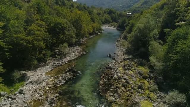 Canyon River: Stock Video