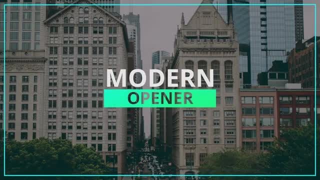 Modern Corporate Opener: Premiere Pro Templates