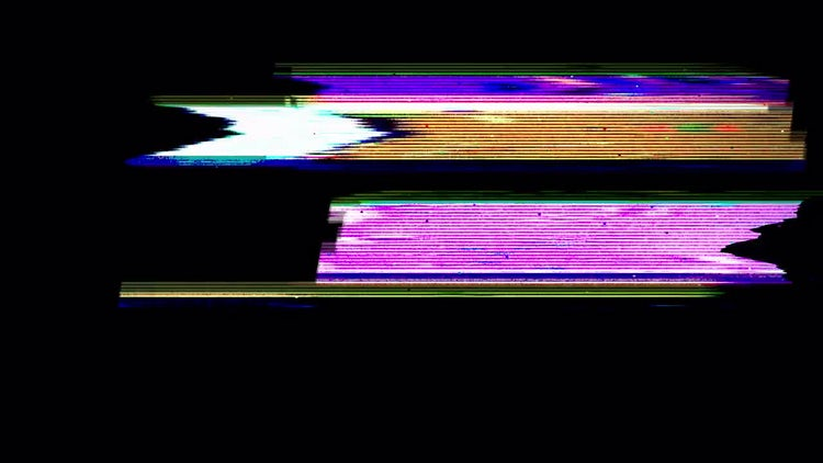 Screen Glitch: Motion Graphics