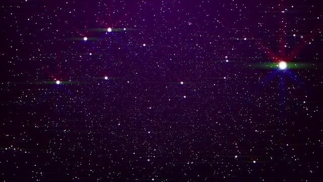 Glowing Stars Background: Stock Motion Graphics