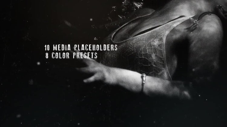 Slideshow Darkness: After Effects Templates