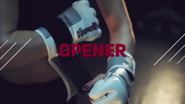 Sport Motivational Opener : Premiere Pro Templates