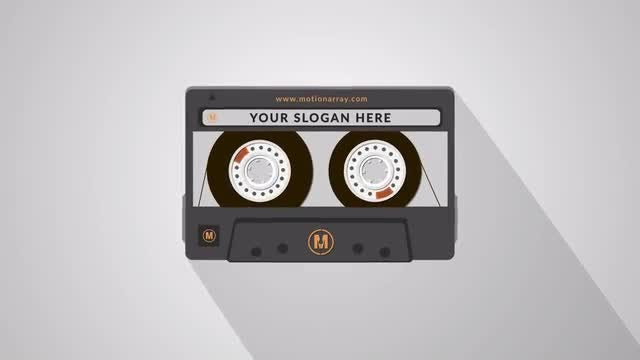 Tape Logo Opener: After Effects Templates