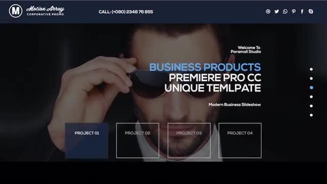 Corporate Promo: Premiere Pro Templates