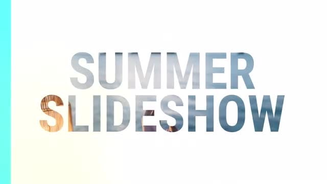 Dynamic Summer Slideshow: Premiere Pro Templates