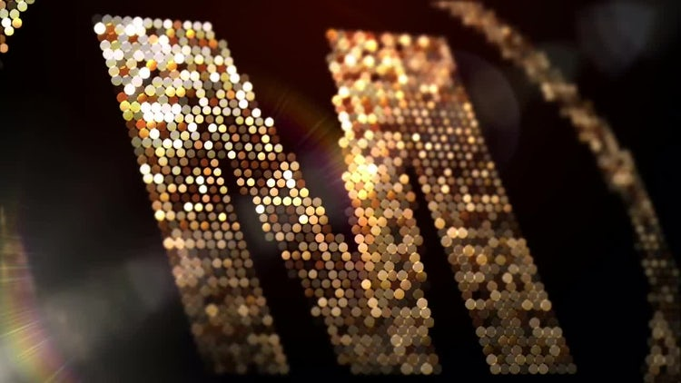 Glitter Particles Logo: After Effects Templates