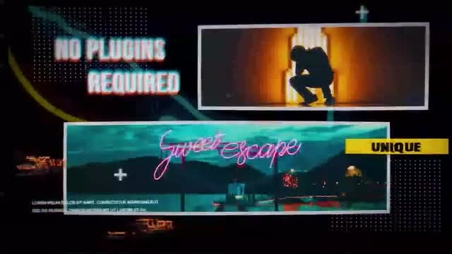 Night Light Project: After Effects Templates