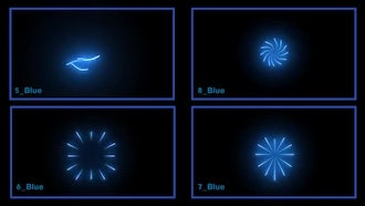 11 Light Bursts: Motion Graphics