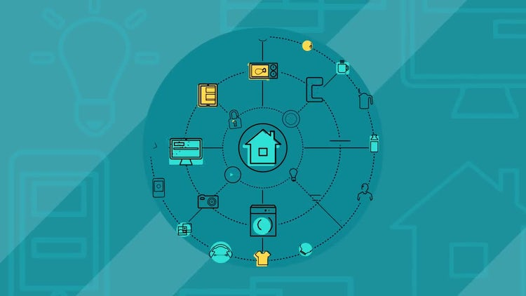 Internet Of Things And Smart Home Infographics: After Effects Templates