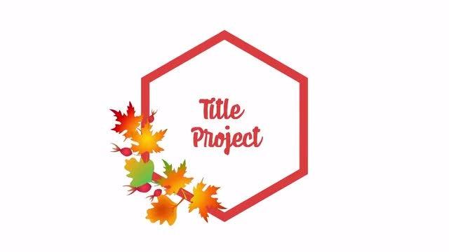 Autumn Titles: DaVinci Resolve Templates