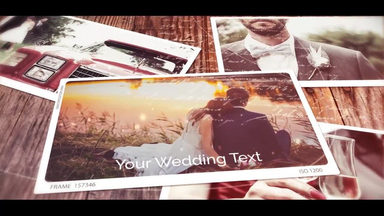 Wedding Moments: After Effects Templates