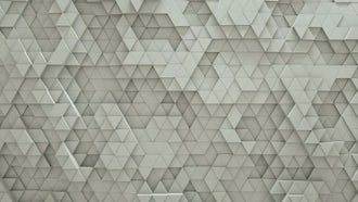 Abstract Triangles: Motion Graphics
