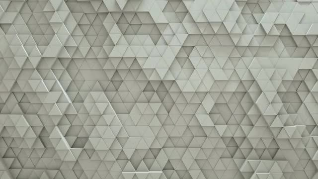 Abstract Triangles: Stock Motion Graphics
