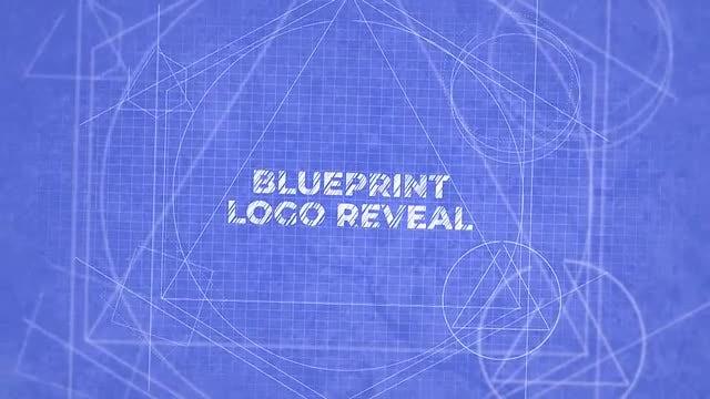 Blueprint Logo Reveal: Final Cut Pro Templates