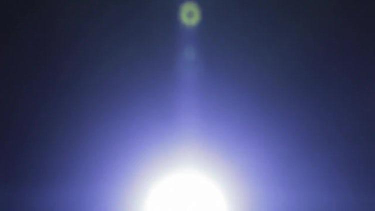 Lens Flare 04: Stock Video