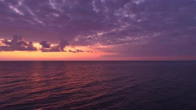 Purple Sky: Stock Video