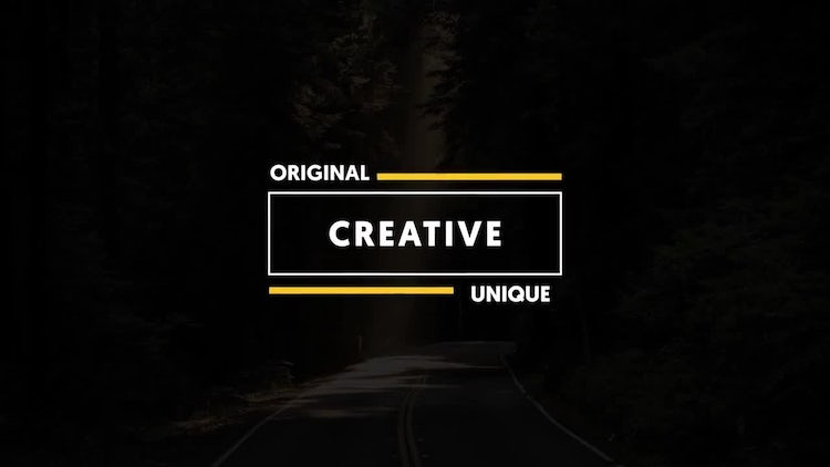 15 Dynamic & Minimal Titles: After Effects Templates