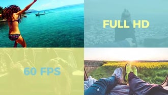 Flat Slideshow: Premiere Pro Templates