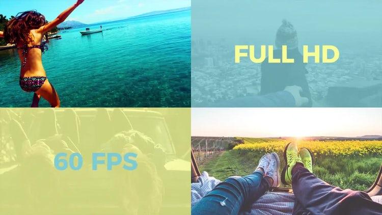 Flat Slideshow: Premiere Pro Templates