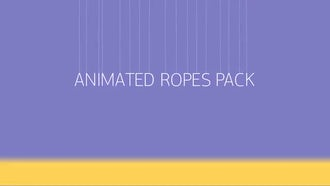 Animated Ropes: After Effects Templates