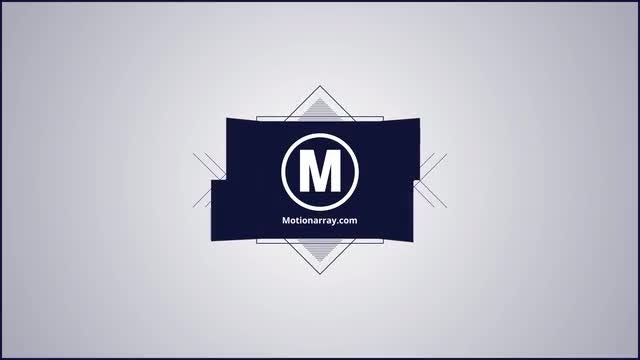 Simple shape logo: After Effects Templates