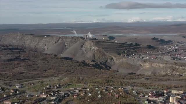Kiruna Mine: Stock Video