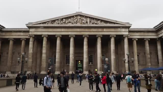 British Museum: Stock Video