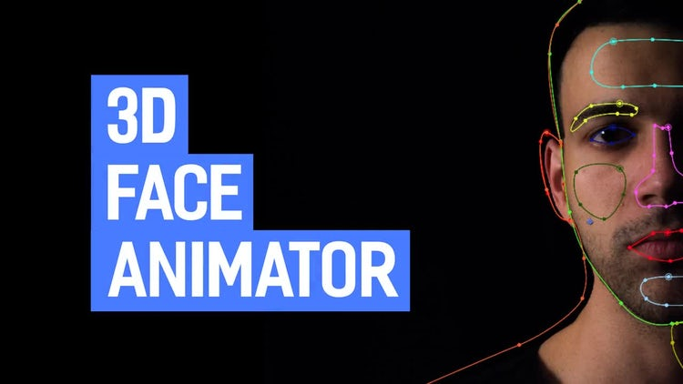 3D Face Animator: After Effects Templates