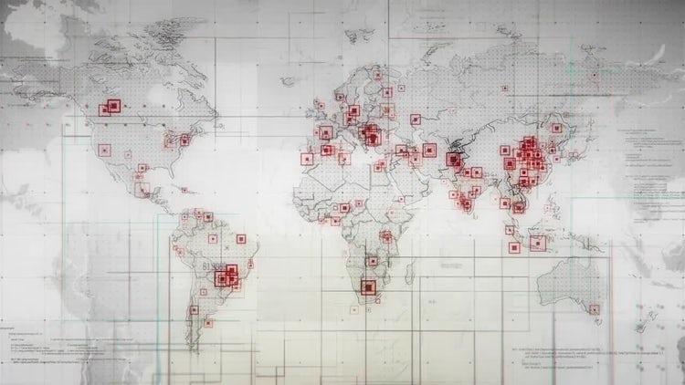 World Maps: Stock Motion Graphics