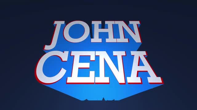 John Cena Title.: After Effects Templates