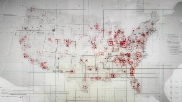 USA Maps: Stock Motion Graphics