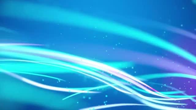 Glow Streaks: Stock Motion Graphics